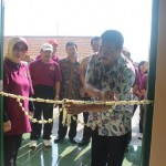 Peresmian Ruang Kelas Baru (RKB) SMA Negeri 7 Surakarta oleh Pejabat sementara Walikota Solo Budi Suharto. Peresmian ini sekaligus memperingati HUT sekolah ke 31 tahun - foto: Djoko Judiantoro