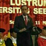 Presiden Jokowi saat kunjungan di solo : Foto: sumber WA Group
