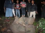 situs watu tuumpeng kondisinya memprihatinkan . Foto: Koran juri.com