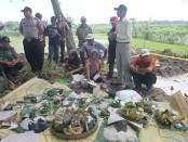 Selamatan di Situs Watu kebo Jelang eskavasi .Foto: Koranjuri.com