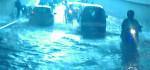 Lagi , Underpass Makam Haji Jadi Kolam Air Setiap Kali Hujan Tiba