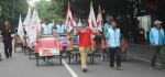 Ribuan Tukang Becak Dan Ojek Pangkalan Demo Tolak Ojek Online