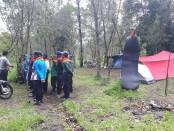 Koordinasi yang dilakukan Polres Karangantar dalam kasus tewasnya 3 orang mahasiswa UII saat mengikuti Pendidikan SAR di kawasan hutan pinus Tlogodringo, Desa Gondosuli, Kecamatan Tawangmangu, Karanganyar, Jawa Tengah - foto: Istimewa