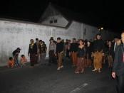 Gubernur Jawa Tengah Ganjar Pranowo turut kirab malam 1 suro di Pura Mangkunegaran