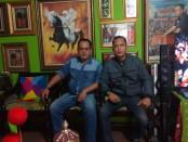 Keterangan foto : Ketua umum Lapaan RI BRM Kusuma Putra,SH,MH dan sekjen Lapaan RI , Wisnu Tri Pamungkas.foto: koranjuri.com
