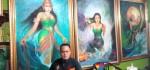 Aneh, Pria Ini Koleksi Puluhan Lukisan Kanjeng Ratu Kidul